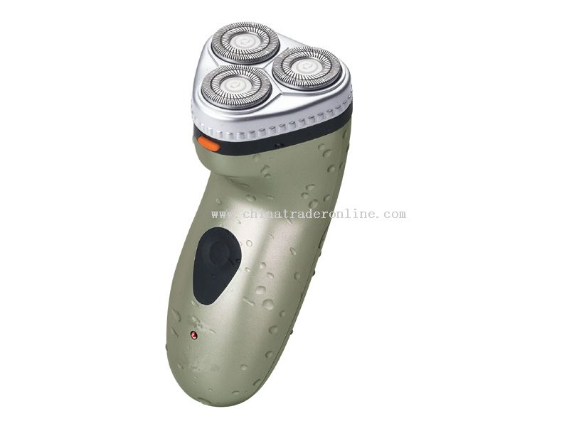 Rechatgeable shaver with washable function