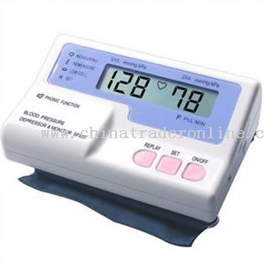 Microcomputer-Base Vocal Blood Pressure Depressor Monitor from China