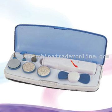 Manicure System with Mini Electronic Fan