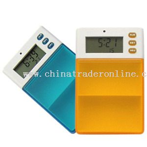 Multi-Alarm Medicine Box with Timer from China