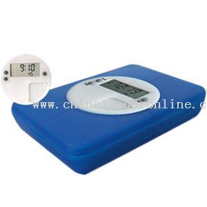 Multi-Alarm Medicine Box with Timer
