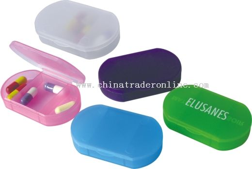 logo imprinted Pill Box