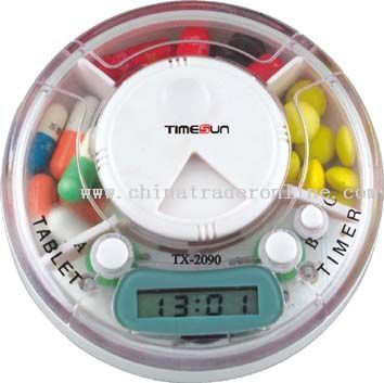 Pillbox with LCD Timer