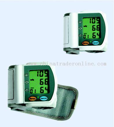 Wrist Blood-Pressure Meter
