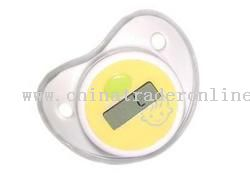baby pacifier thermometer from China