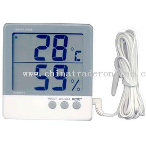 Hygro-thermometer with Large Screen