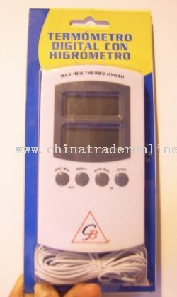 In/outdoor Hygro-Thermometer from China