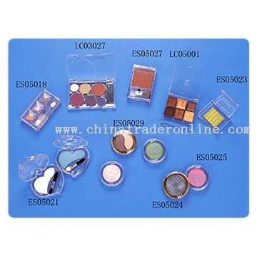 Eyeshadow, Blusher, Lipcolor from China