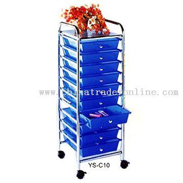 10-Tier Storage Cabinet