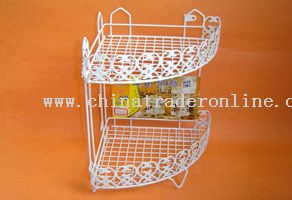 2 layer tricorn shelf
