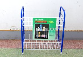 double layer storage shelf from China