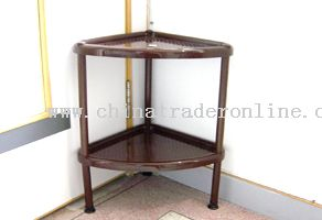 double layer tricorn shelf