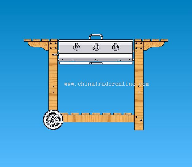 Gas BBQ Cart from China