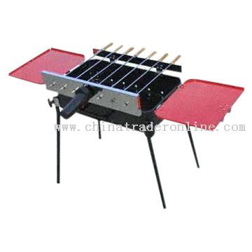 Motor Operated Rotisserie BBQ Grill