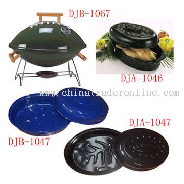 Roast Pan and Barbecue Grill