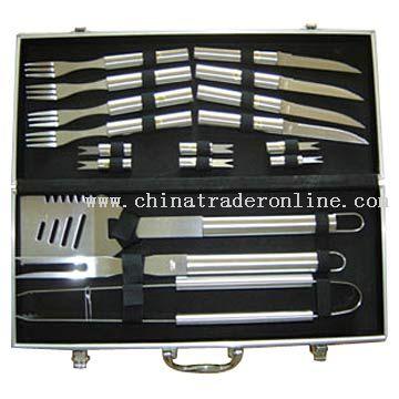 BBQ Tools in Alum Case
