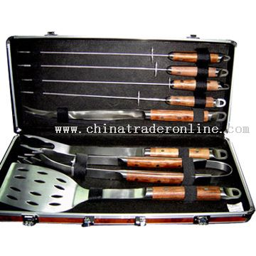Barbecue Tool In Alum Case