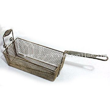 Frying Basket with Front Handle from China