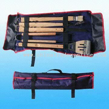 Piece Barbecue Utensils Set in Nylon Bag