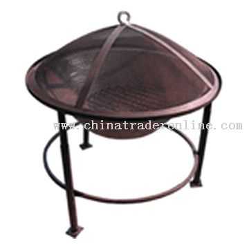 Firepit With Cover
