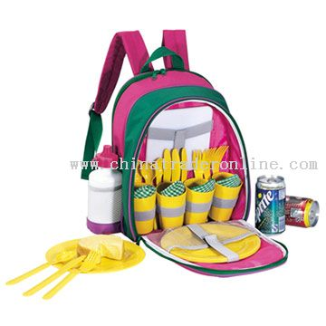 4-Person Kids Picnic Promotional Backpack