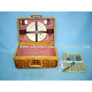 Fern Picnic Basket for 2 Persons