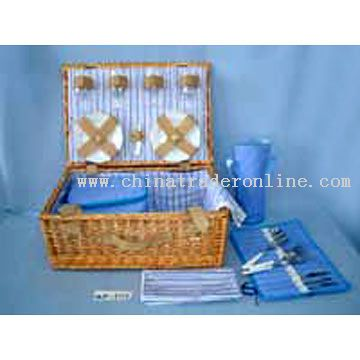 Willow Picnic Basket for 4 Persons