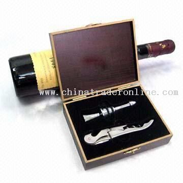 Wine Stopper and Corkscrew