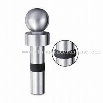 Durable Bottle Stopper Made of 18/8 Stainless Steel
