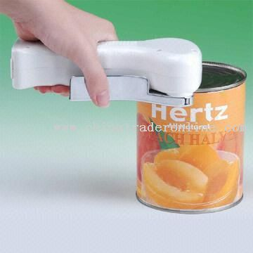 Electric Can Opener with Smooth-edger Function