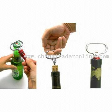 Corkscrew and Bottle Stopper