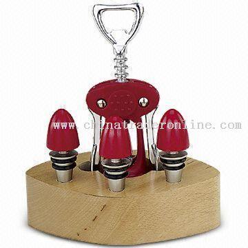 Four-piece Corkscrew Set