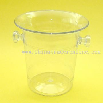 Promotional Transparent Ice Bucket with 3.00L Capacity