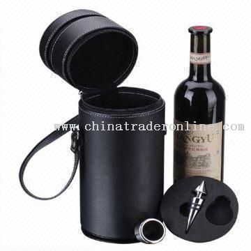 Round Wine Bucket for One Bottle
