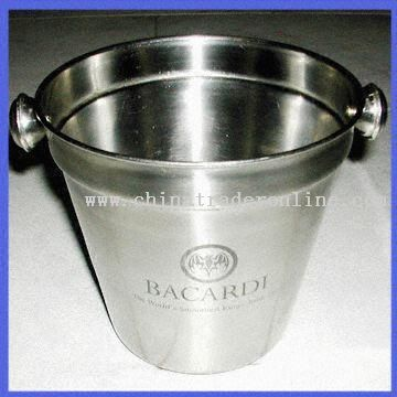 Stainless Steel Wine Bucket as Give-away Products