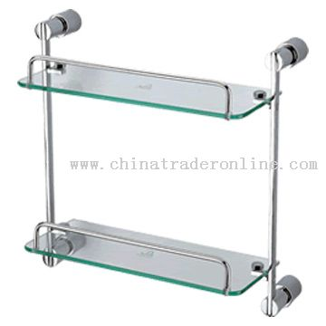 Double-Layer Glass Shelf from China