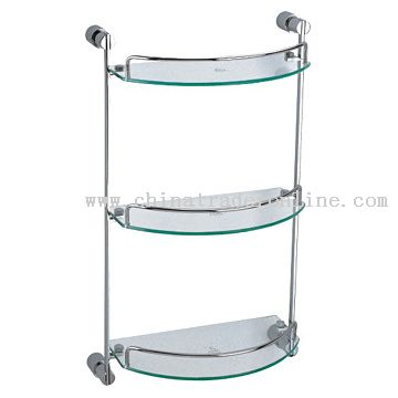 Three-Layer Glass Shelf