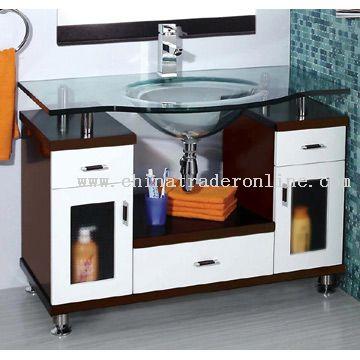 Cabinet Glass Basin