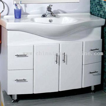 Waterproof Crystal Sheet Cabinet Basin