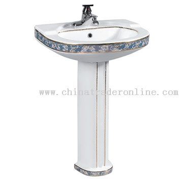 Pedestal Basin Decal
