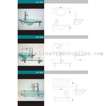 Small Glass Washbasin