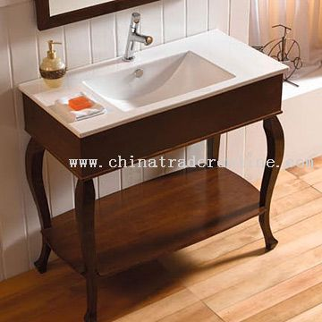 Washbasin with Rosewood Pedestal