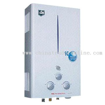 Energy-Saving Winter-Summer Fuel Pipe Exhaust Water Heater