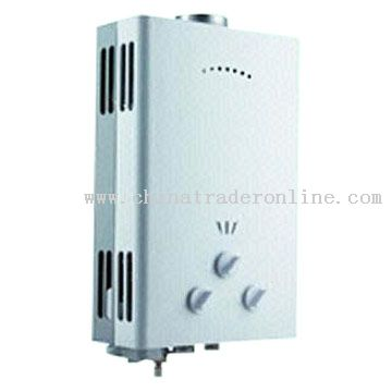 Instant Gas Water Heater with Anti-Blockage Function
