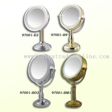 lighted makeup vanity. Lighted Makeup Mirror [Lighted