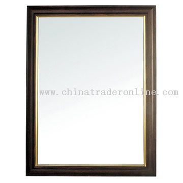 Bathroom Mirror Frame on Bathroom Mirror    Framing Bathroom Mirror With Chair Rail