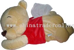 Sleeping Bear Tissue Holder from China