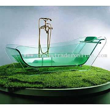 Glass Bathtub from China