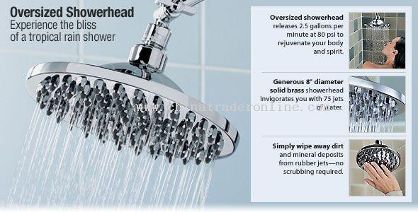 Superior Oversized Showerhead