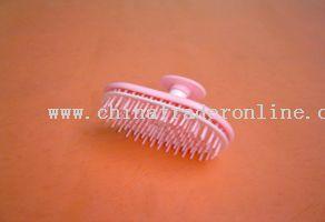 elliptical hair brush